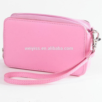 Wholesale Promotional Colorful Large Capacity Makeup Case Cosmetic Bags Prival Label