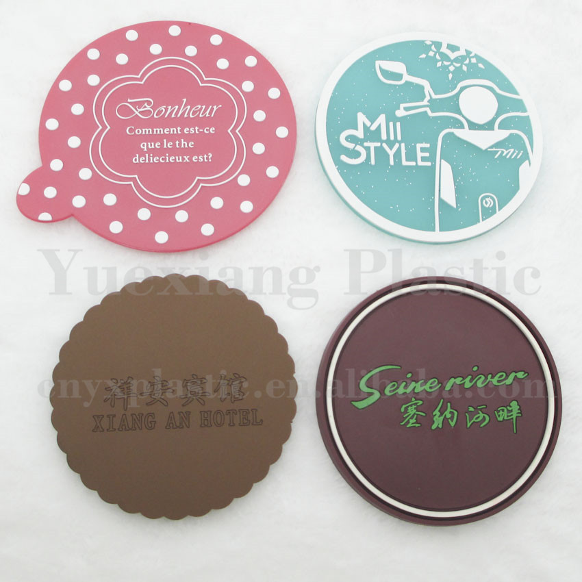 graphic about Printable Coasters titled Silicone Vinyl Pvc Printable Coaster Layouts Tailor made Inexpensive Beer Bar Coasters For Beverages - Order Economical Beer Bar Coasters,Pvc Coaster,Printable Coaster