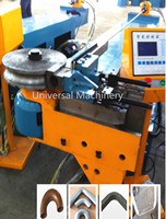 Global warranty Hydraulic Flat Bar Angle Bending Machine
