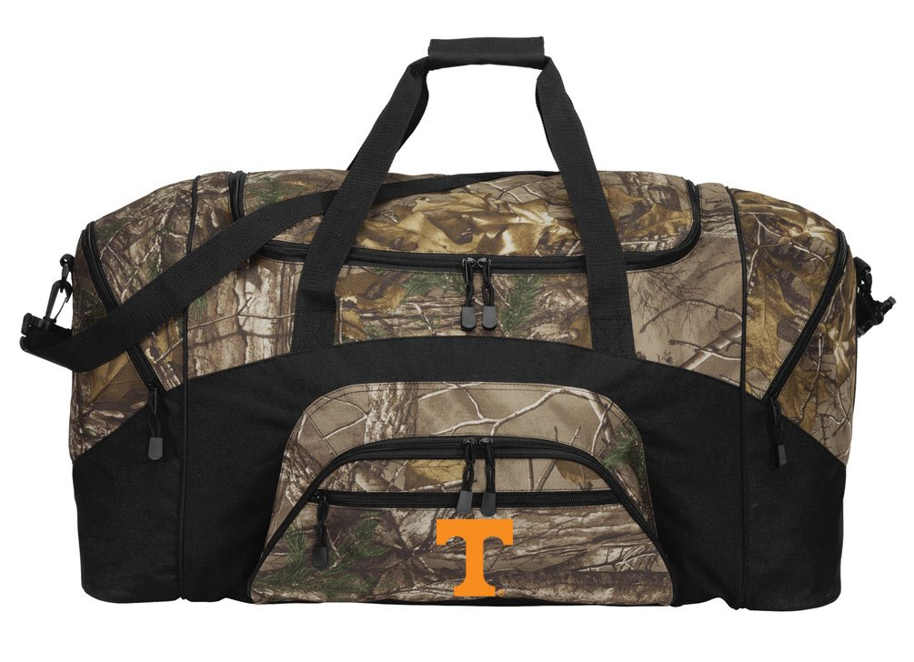 RealTree Camo University of Tennessee Duffel Bag Or Camo Tennessee Vols Gym Bag