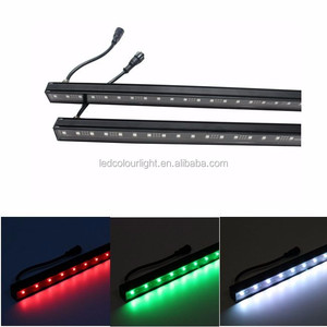 DMX512 48 leds SMD5050 slim dmx led rigid bar multi color led light bar