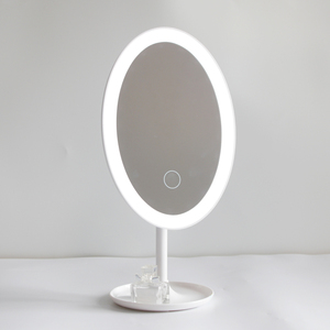 Latest Adjustable Rechargeable Led Makeup Mirror With Custom