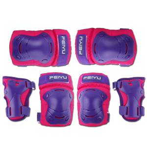 CE Approved Heavy Duty Durable Kids Roller Skating Protector Set Elbow Knee Hand Pads