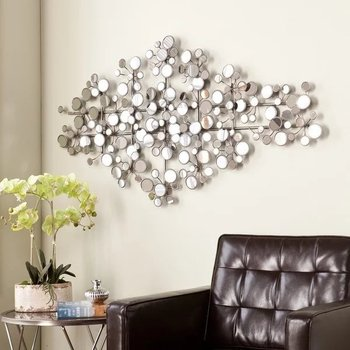Zhaohui Large Wall Mirrors Art Deco Mirror For Living Room Product On Alibaba