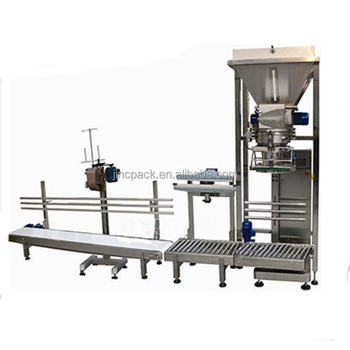 Basil powder heavy bag top open bag packing machine