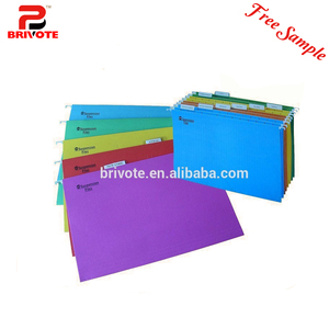 2015 colorful wholesale plastic file folder clip/hanging file folder/pvc file folder