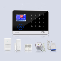 2019 hot sale solar power system home security alarm system wireless gsm home alarm system