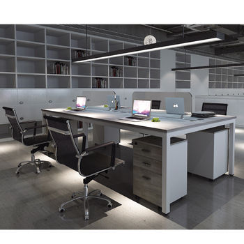 fashion design 4 person workstation furniture office cubicle for rh alibaba com Four-Man Workstation 4 Person Workstation Design