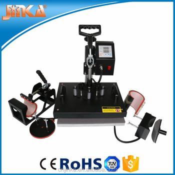 6 In 1 Multi Function Heat Press Machine Buy 6 In 1 Heat Press Jinka Heat Press China Supplier