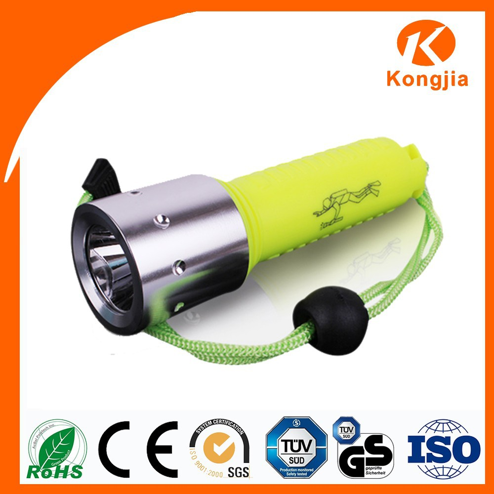 Waterproof Flashlight Led Aquarium Rechargeable Aluminum Plastic Flashlight Led Torch Light Life Tech Aquarium Light