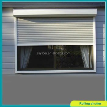 Roll Up And Down Aluminum Window Shades - Buy Roll Down ...
