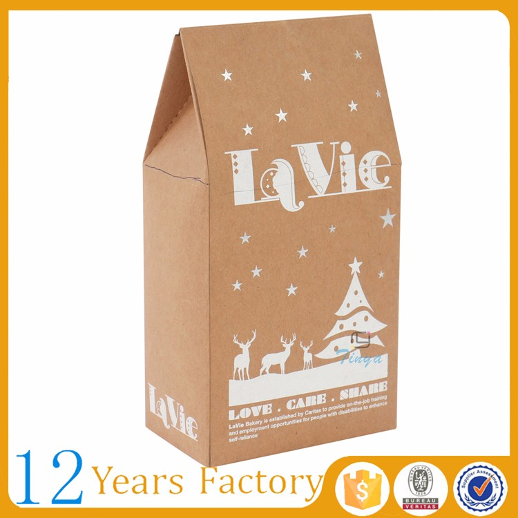 cake window craft gift food packaging catering paper box
