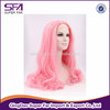 wholesale synthetic long cosplay pink wig