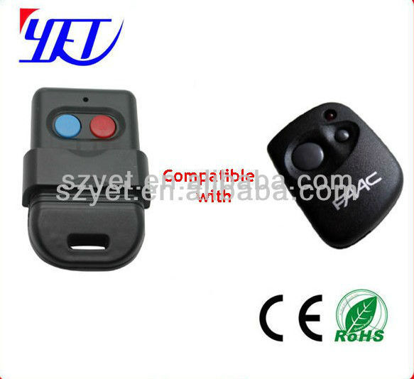 Wireless remote transmitter and receiver, Electronic Key Duplicate Remote control YET102B