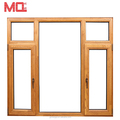 Cheap aluminum casement window with accessories