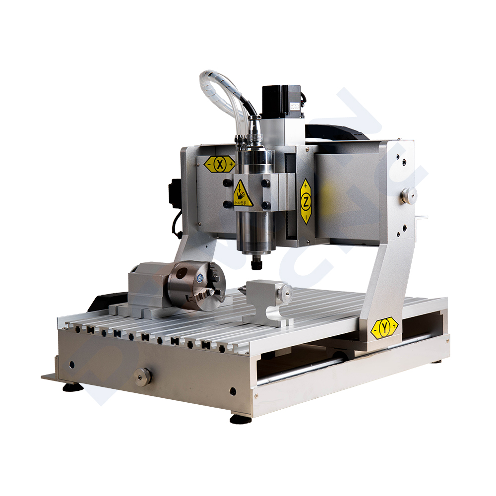 China 3 axis mini 6040 2.2Kw <strong>cnc</strong> milling 4 Axis machine for copper aluminum steel curving engraving good price