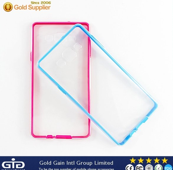 Cell Phone TPU+PC Bumper Case For Samsung A7 Back Cover