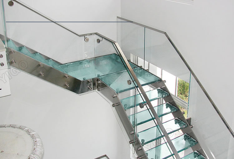 Awesome Aluminum Stair Stringers/wood Staircase Treads