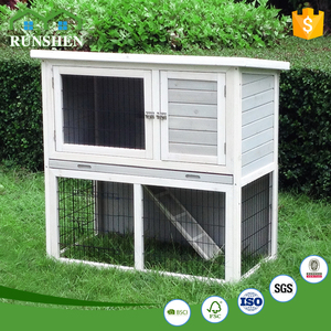 Wood Layers Guinea Pig Cage Indoor Rabbit Houses For Sale