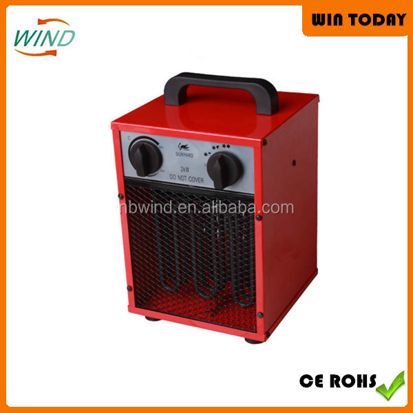 2kw Industrial Electric Fan Heater E020S