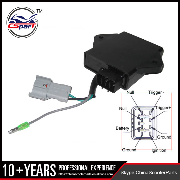 8 Pin Atv Cdi Box Wiring Diagram - wiring diagram symbols ...  Wire Cdi Wiring Harness Diagram on