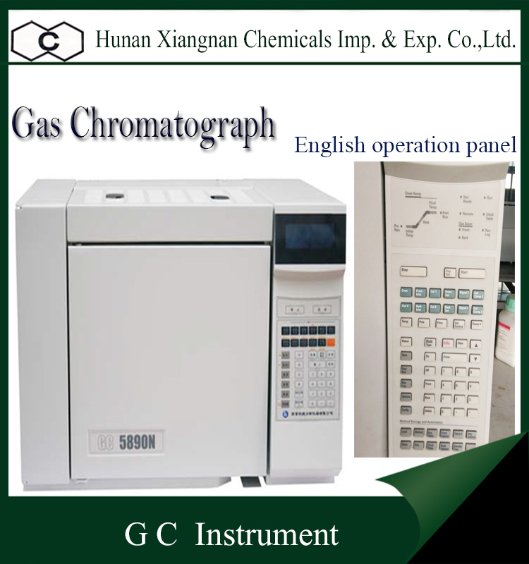 English Software Capillary Tube sampling system Analysis Instrument GC 5890N With PID Detector Gas Chromatograph