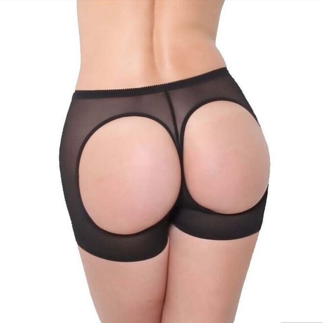 840eb935dd37 Get Quotations · Women Butt Lifter Shaper Control Panties Sexy Buttocks  Enhancer Panty Boyshort Tummy Undies Bottom SHAPEWEAR Plus