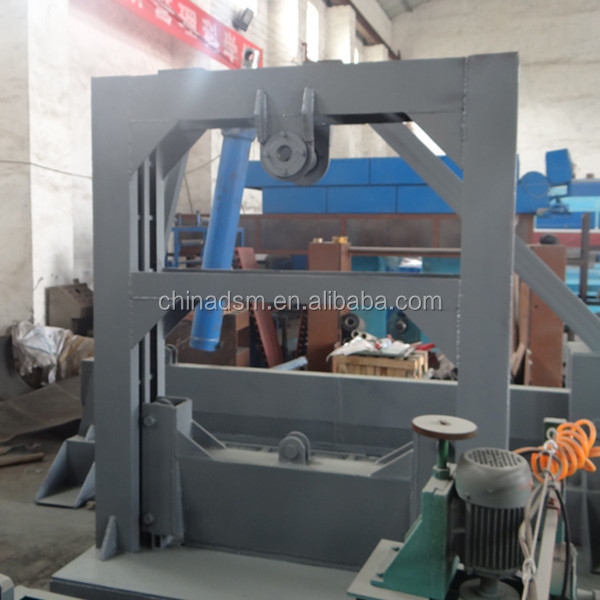 Mass Capacity Wood splitter with cross wedge hot in Chile