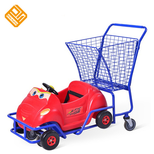 Funny Toy Children Car Seats Kids Shopping Trolley Cart