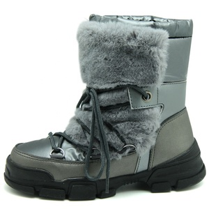 women's warm furry thermal snow boots