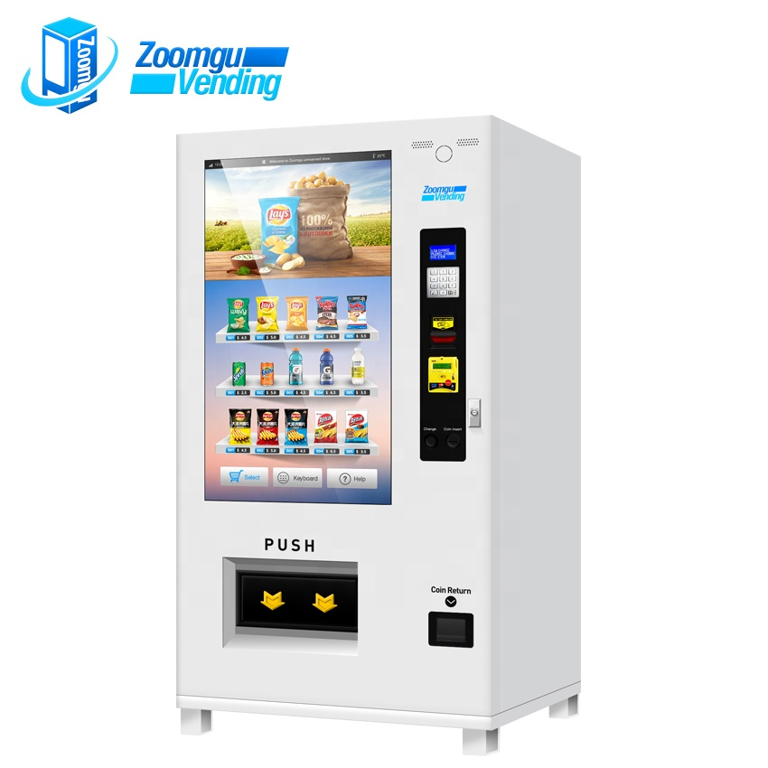 Zg top level hoge technologie touch controlled automaat