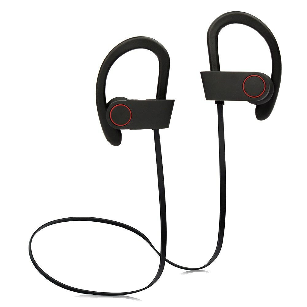 Fashion Sport Earphone U8 Waterproof Headset Sweatproof neckband bluetooth headphones Music Stereo Headphone Ear hook