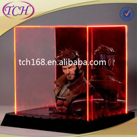 2015 good quality new customized acrylic guitar display case