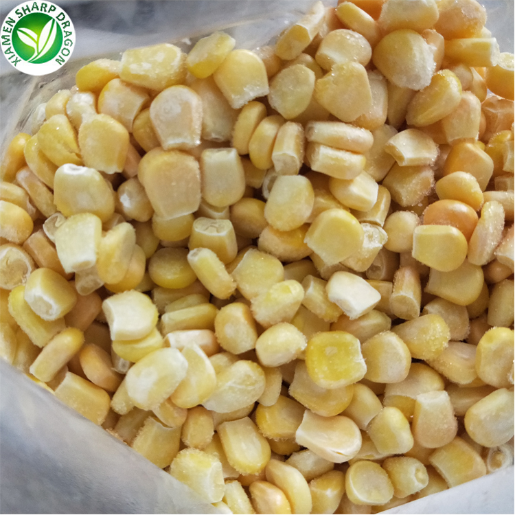 Yellow bulk sweet iqf frozen kernel <strong>corn</strong>
