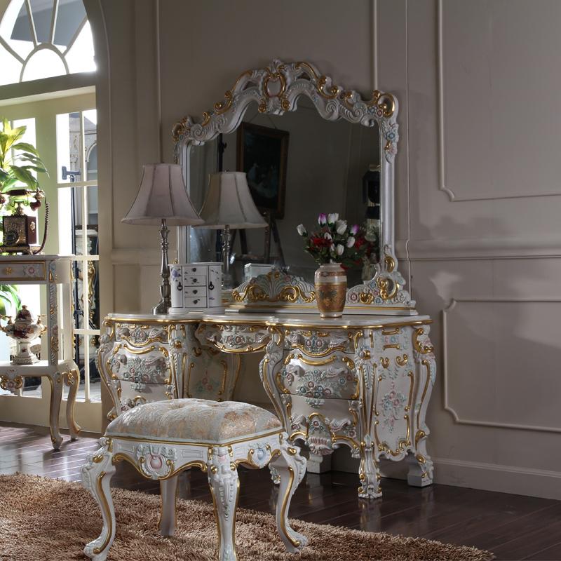 It lia estilo antigo penteadeira m veis para casa de luxo for Mobilia italia