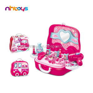 Popular style education toy girls pink tool toys set with good quality