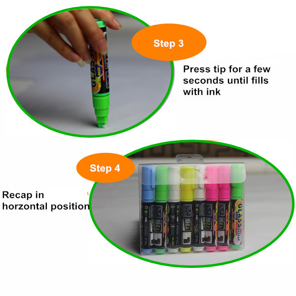 Aliexpress Liquid Chalk Marker Pens 8-pack 6mm Chisel Tip