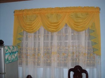 Curtains Buy Swag Amp Jabot W Embroidered Curtain Product