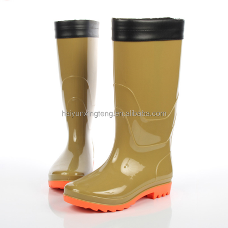 rain boots Chinese popular products pvc unique ran boots