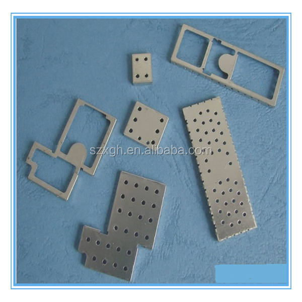 Stamping Process Punching Tin-plated Shielding Case / nickel silver shield cover