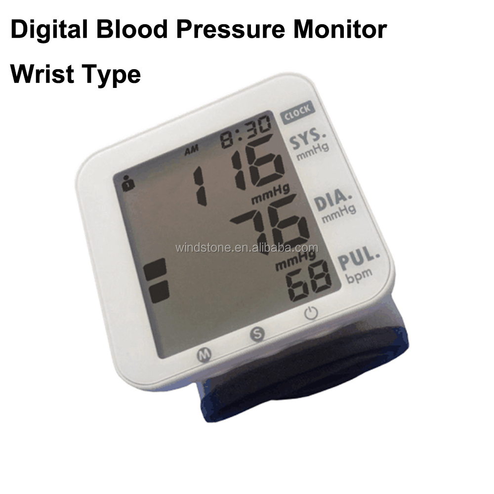Hospital Medical Electronic Arm Blood Pressure Monitor