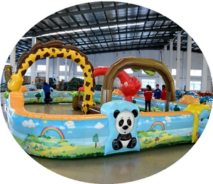 Inflatable Racing Rally Lane, Go Kart Inflatable Race Track from China factory