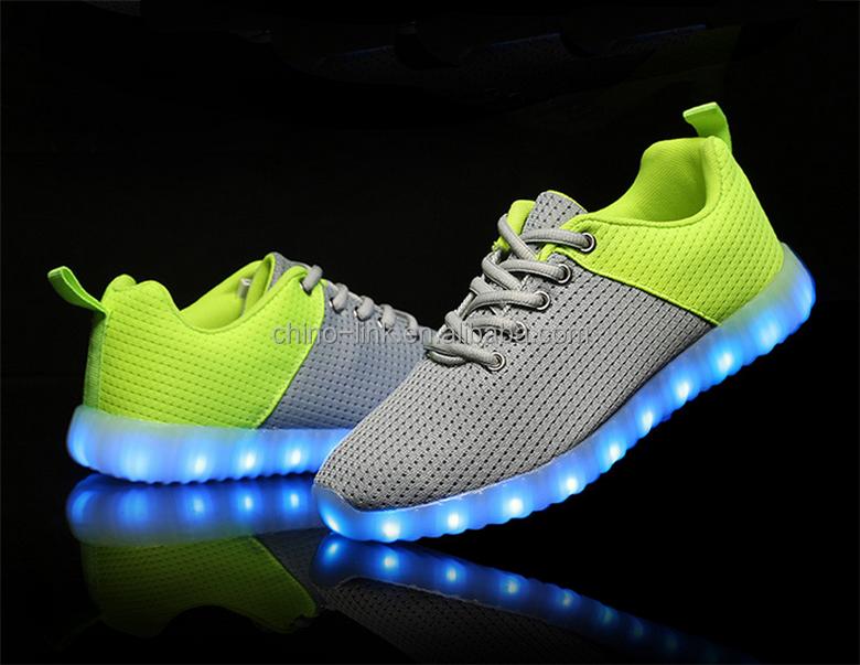 Led Licht Schoenen : Goede patroon goedkope prijs volwassen glow lichtgevende led