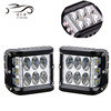 Car led work Light 4inch 60w/36w fog Light bar with 3sides strobe and flash yellow white for truck jeep motorcycle