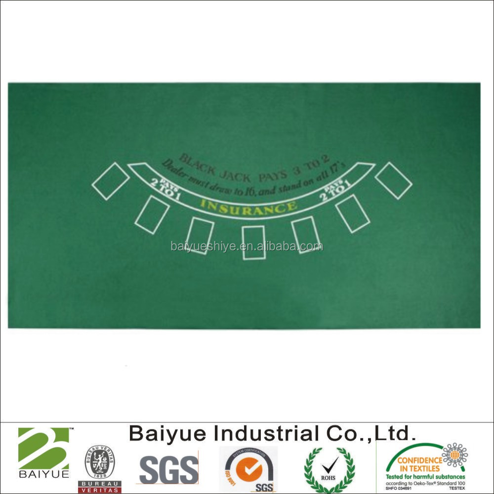 Blackjack table top view - Blackjack Table Felts Blackjack Table Felts Suppliers And Manufacturers At Alibaba Com