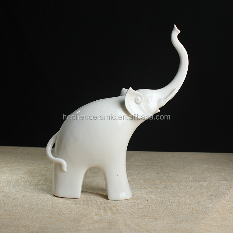 White Porcelain Elephant, White Porcelain Elephant Suppliers And  Manufacturers At Alibaba.com