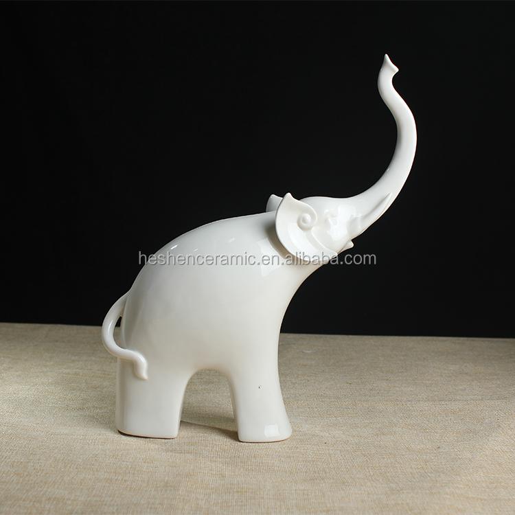 White porcelain elephant figurine wholesale porcelain elephant suppliers alibaba