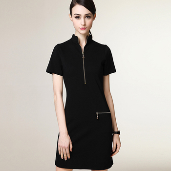 968468b176a Custom Made Office Ladies Formal Dress Western Dress Oem - Buy Women ...