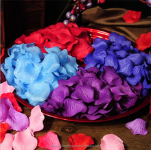 Wholesale Artificial Silk Rose Flower Petals For Wedding Decoration