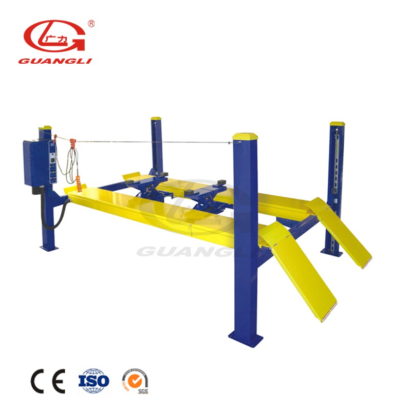 1 Years Warranty Four Post 4000kg Imported Pumb Car Hoist Lift